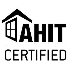 AHIT certified logo.