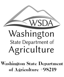 The logo for the Washington state department of agriculture #98219